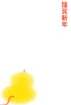 謹賀新年赤金ねずみの葉書サイズイラスト.jpeg